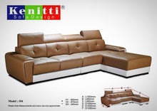 Kenitti sofa-L-shape to suit your space & style