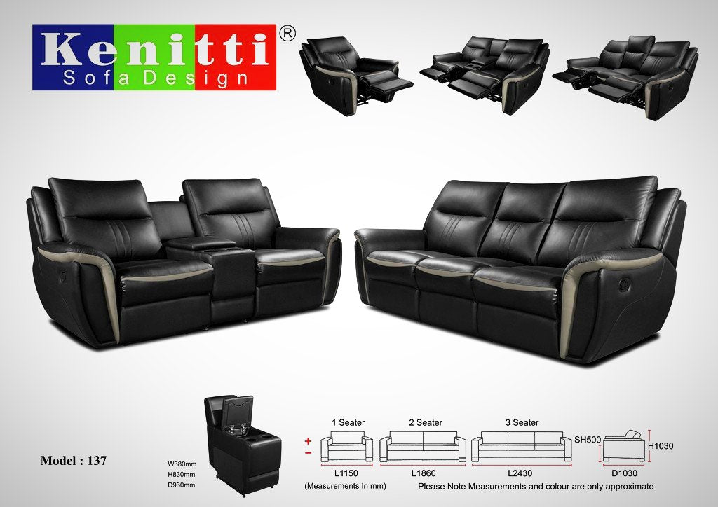 Kenitti sofa-Recliners Pro to suit your space & style