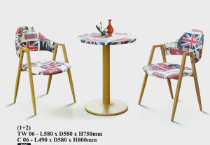 M&N - Outdoor Garden Set - Round - TW06-C06