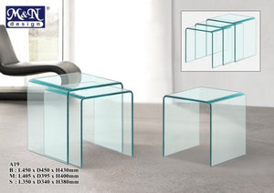 M&N - Coffee Table - Square - A19