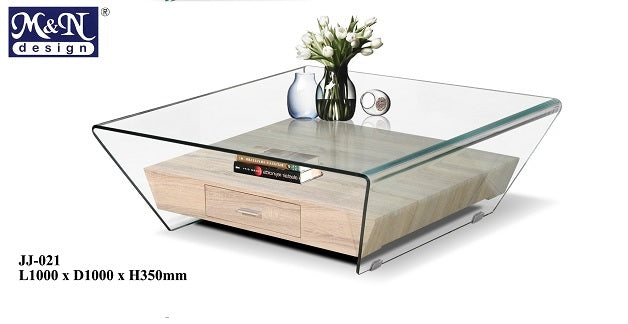 M&N - Coffee Table - Square - JJ-021