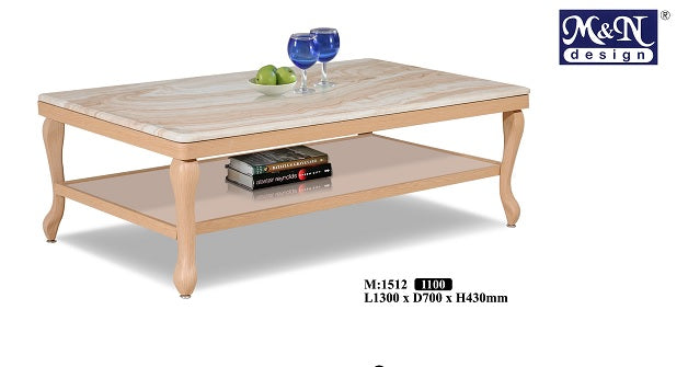 M&N - Coffee Table - Rectangle - M-1512
