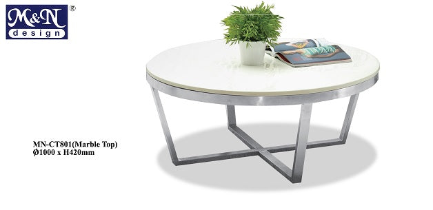 M&N - Coffee Table - Round - MN-CT801