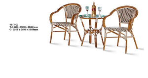 M&N - Outdoor Garden Set - Round - 46