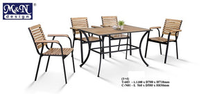 M&N - Outdoor Garden Set - Square- T603-C-NO1