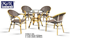M&N - Outdoor Garden Set - Round - T-D301-C-303