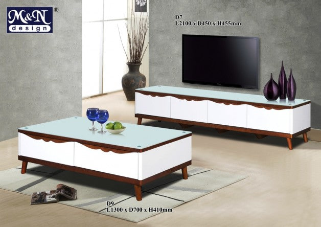 M&N - Coffee Table - Rectangle - D9