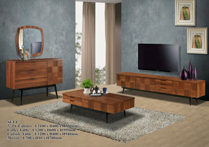 Wood - Living Hall Cabinet Collection - ESTEPONA