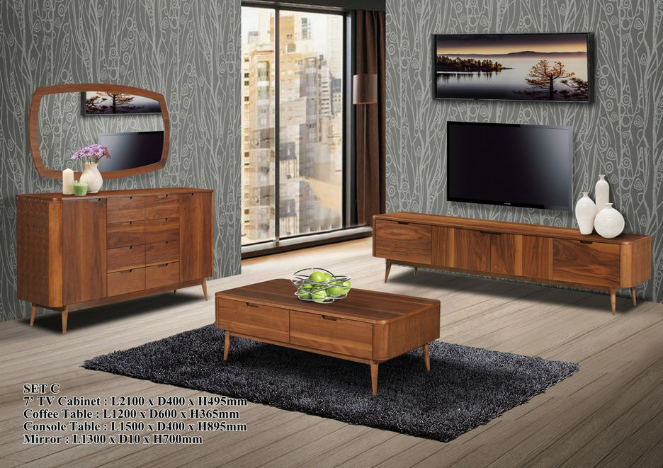 Wood - Living Hall Cabinet Collection - ALICATE