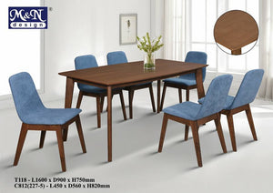 Wooden Dining Table supplier in Malaysia by M&N Furniture Trading Sdn Bhd
