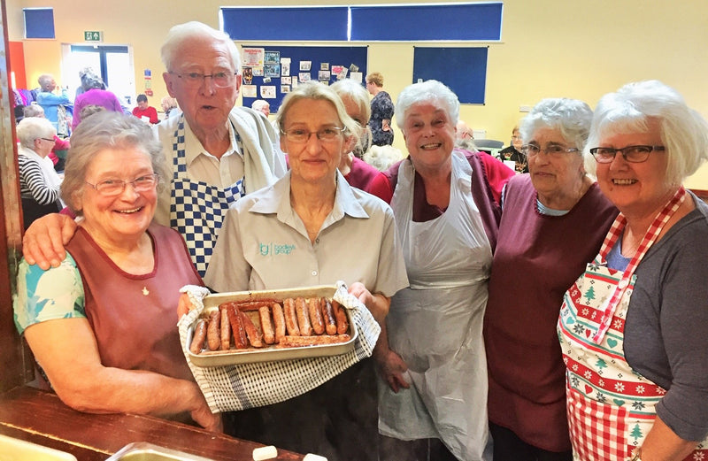 Spreading Christmas cheer to Telford pensioners