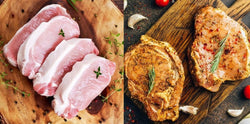 PRODUCT OF THE WEEK: Pork loin steaks - with or without marinade