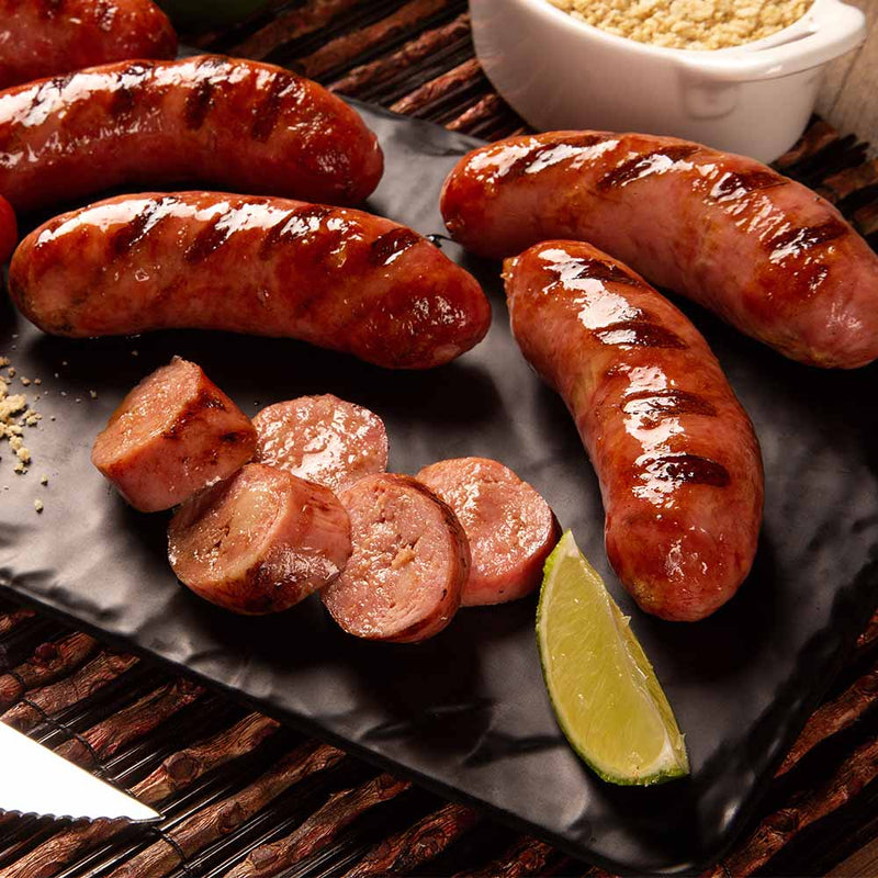 Spiced Mango, Lime and Coconut Pork Sausage