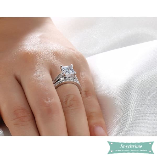Alliance Femme En Argent Beautiful Bague Couple