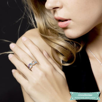 Bague Infini Diamant Now And Forever