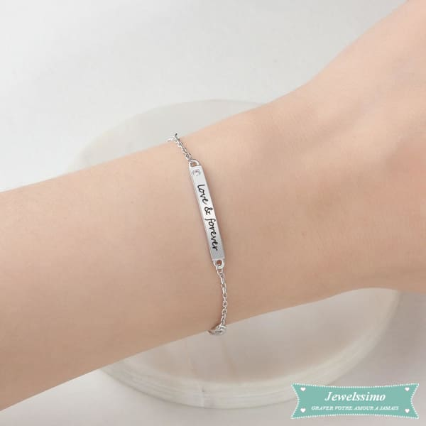 Bracelet Damour Me And You Pour Couple Bracelet Couple