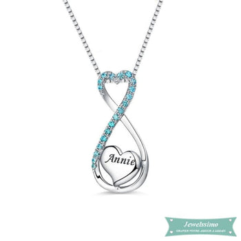 Collier Infini My Heart Will Go On En Argent 35Cm Infini