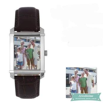 Montre photo personnalisable Souvenir montre quartz