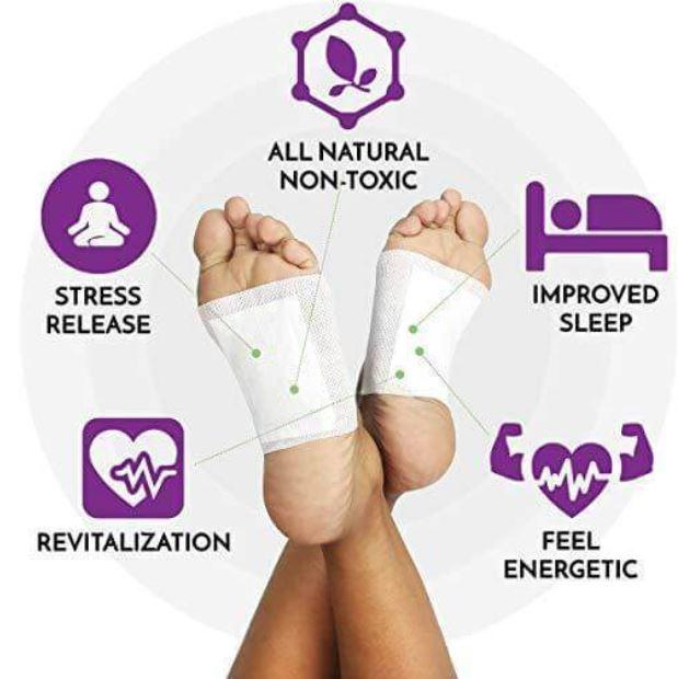 Ginger Detox Foot Pads (8 piece set)