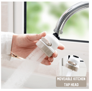 Move-it || Movable Kitchen Faucet Head 360°