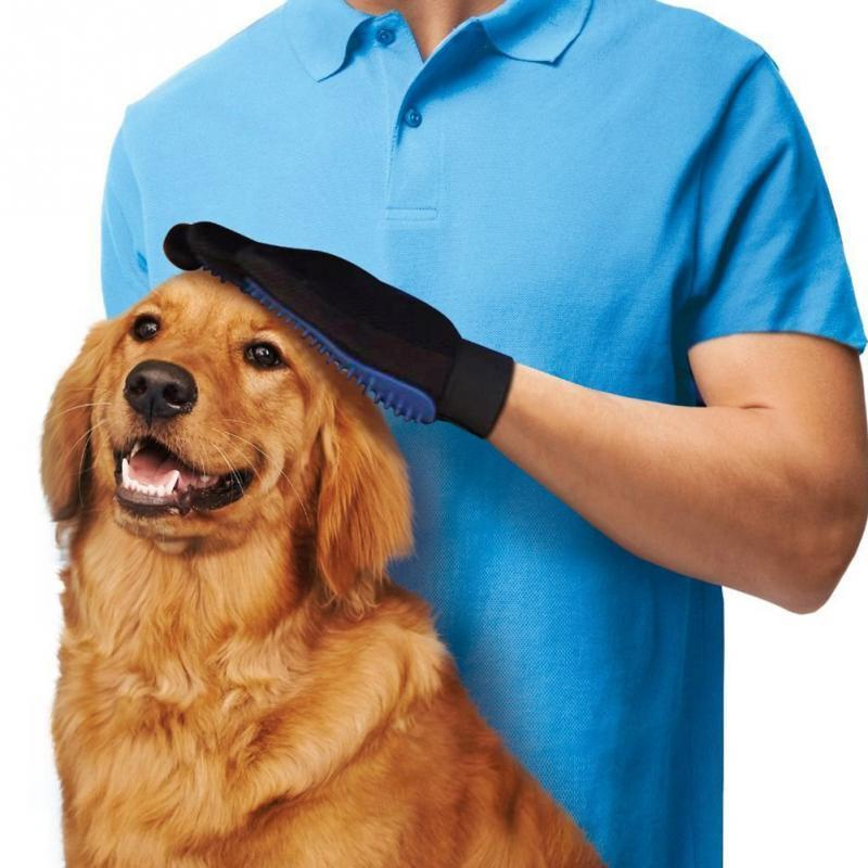 True Touch™ Pet Grooming & Deshedding Glove.