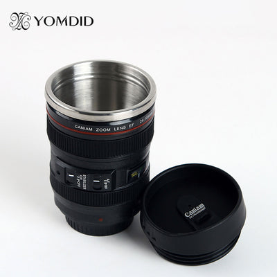 Stainless Steel SLR Camera EF24-105mm Coffee Lens Mug - June and Jade