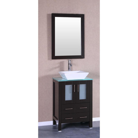 "24"" Bosconi AB124SQCWG Single Vanity"