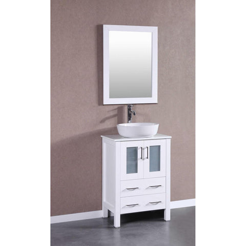 "24"" Bosconi AW124BWLPS Single Vanity"
