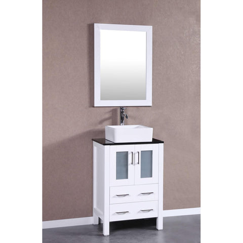 "24"" Bosconi AW124CBEBG Single Vanity"