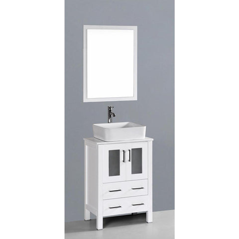 "24"" Bosconi AW124RC Single Vanity"
