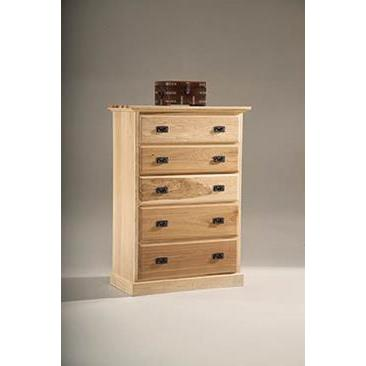 A-America Amish Highlands 5 Drawer Chest