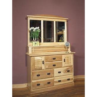 A-America Amish Highlands 7 Drawer Dresser