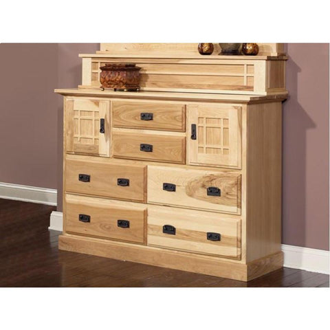 A-America Amish Highlands 7 Drawer Mule Chest