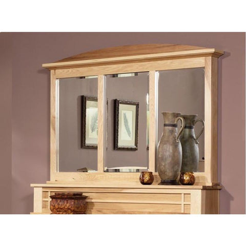 A-America Amish Highlands Dressing Mirror, With Hidden Compartment