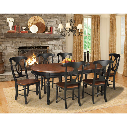 "A-America British Isles 76"" Oval Dining Table"