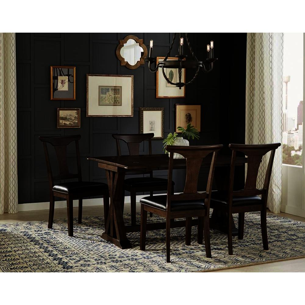 The Dining Room Brooklyn: A-America Brooklyn Heights 5 Piece Flip Top Dining Room