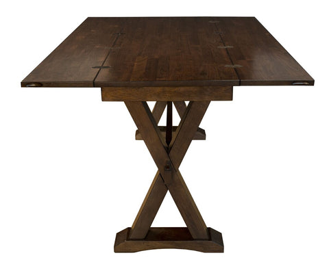 A America Brooklyn Heights Flip Top Dining Table In Warm