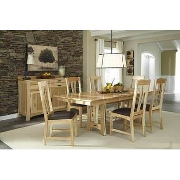 A-America Cattail Bungalow 9 Piece Dining Set