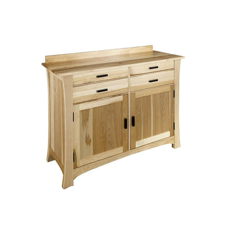 A-America Cattail Bungalow Side Board, Natural Finish
