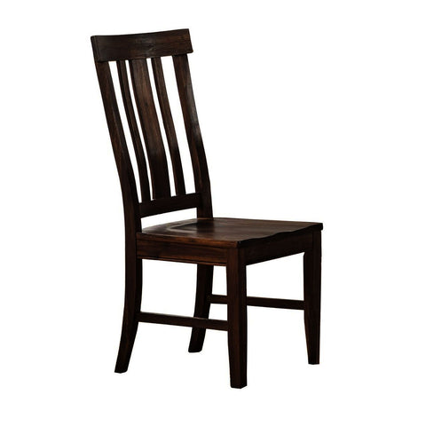 A-America Dawson Slat Back Chair in Wire Brushed Timber
