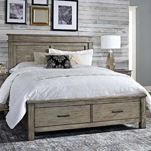 A-America Glacier Point Storage Bed in Greystone