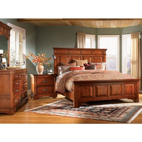A-America Kalispell 4 Piece Bedroom Set With Storage Bed