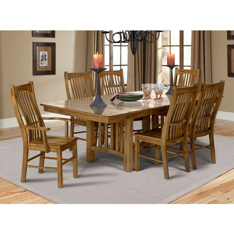 A-America Laurelhurst 7 Piece Gathering Height Dining Set