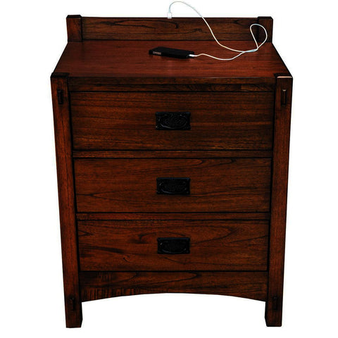 A-America Mission Hill Nightstand in Harvest