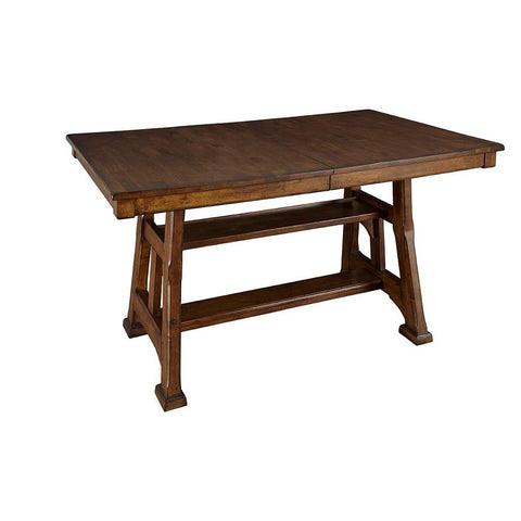 "A-America Ozark 86"" Gathering Height Trestle Table"