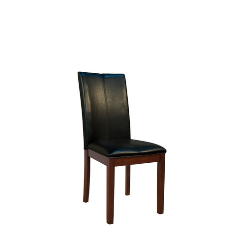 A-America Parson Chair Program Curved Back Parson Chair, Black