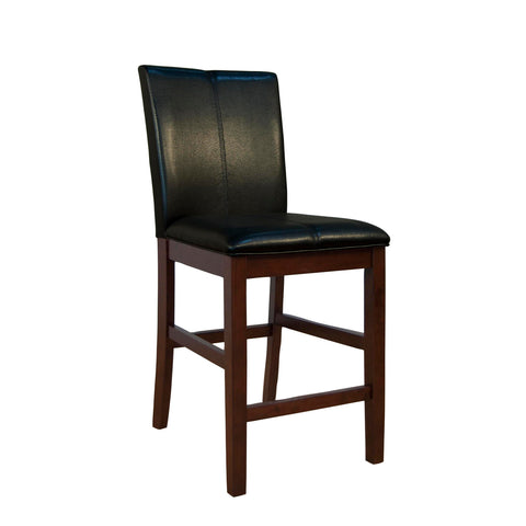 A-America Parson Chair Program Curved Back Parson Counter Chair, Black
