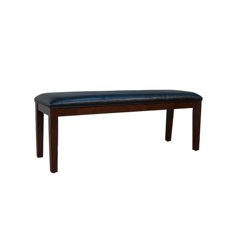 A-America Parson Chair Program Upholstered Bench, Black