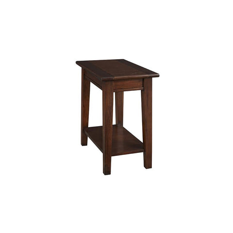 A-America Westlake Chairside Table, With Shelf