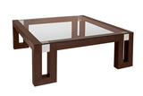 Allan Copley Designs Calligraphy 3 Piece Coffee Table Set in Espresso